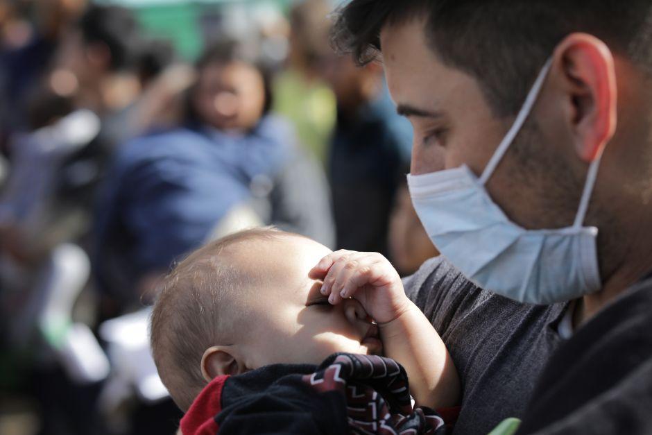 inmigrantes con síntomas de influenza