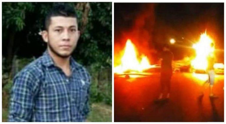 Cuando protestaban en Jutiapa, Atlántida, dos jóvenes fueron asesinados