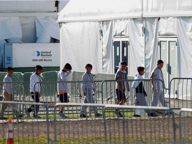 niños migrantes en refugios