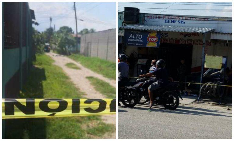 Dos crímenes en el norte: joven en SPS y cliente en tienda de Choloma