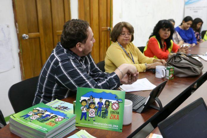 prevención del dengue en centros educativos