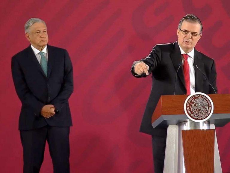 México y EEUU: «medidas adicionales» si el acuerdo no da resultados en 45 días
