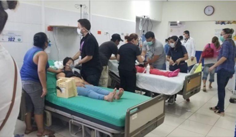 Santa Bárbara: ingresadas de emergencia 33 empleadas de una maquila por intoxicación