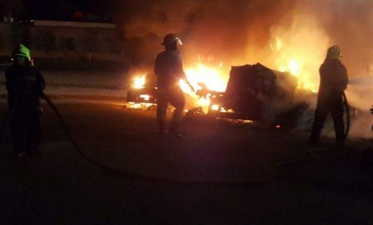 Detienen a tres jóvenes por suponerlos responsables de incendios en EEH y Tranycop