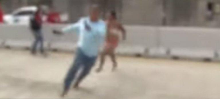 Tegucigalpa: creían que mujer estaba muerta; despierta y persigue a periodistas y policías