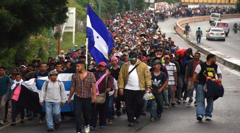 Más de 56 mil migrantes hondureños han llegado a México en 2019, según INM
