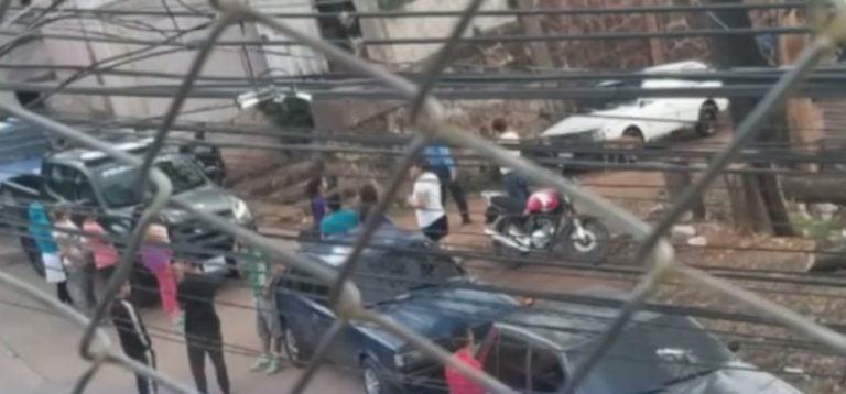 En una cuneta y con la cara destrozada encuentran a hombre en Tegucigalpa
