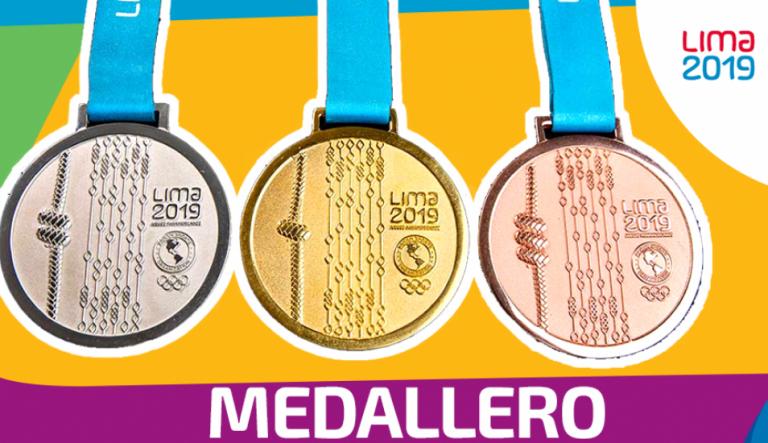 Así avanza el medallero de los Juegos Panamericanos de Lima 2019