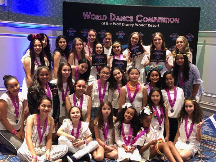 Bailarinas hondureñas