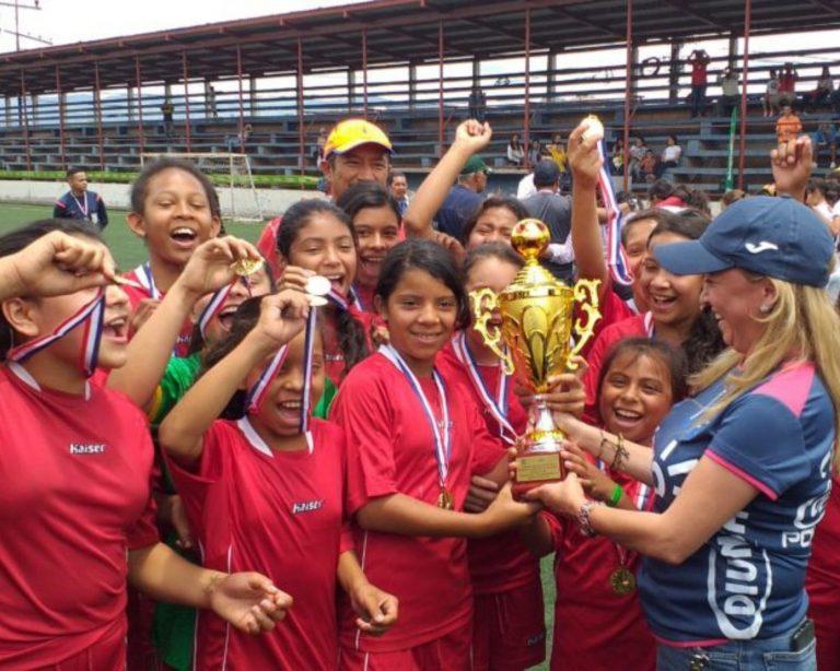 ¡El torneo Femenino Sub-12 de Tegucigalpa ya tiene nuevas campeonas!