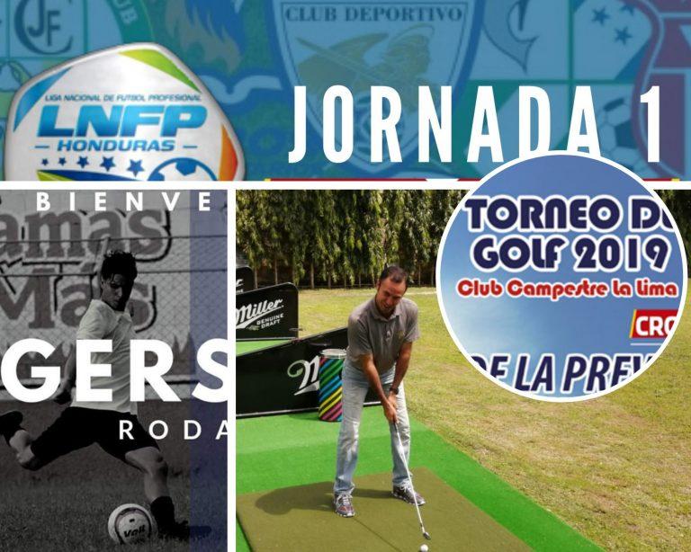 RESUMEN DEPORTIVO: Gerson Rodas al Progreso; cambios en la Jornada 1 de la Liga y un nuevo torneo de golf en Honduras