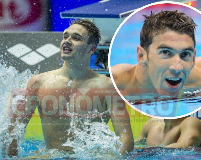 Con tan solo 19 años este nadador rompió el récord de Michael Phelps