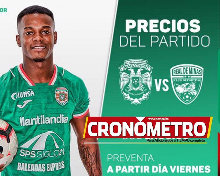 Marathón anuncia precios para el partido contra Real de Minas