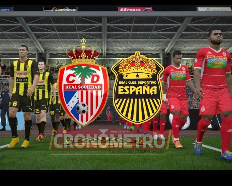 ¡Real Sociedad debuta en Liga Nacional y su primera batalla es ante Real España!