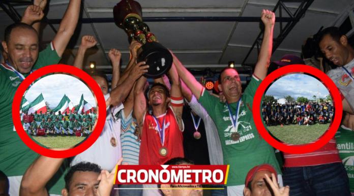 Alegría y fiesta por el Bicampeonato del Marathón en la Liga de veteranos