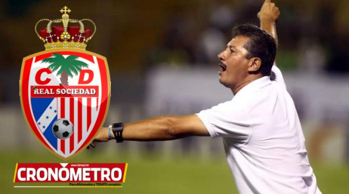 Mauro Reyes se convierte en el nuevo DT del Real Sociedad; Carlos Martínez separado