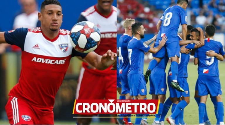 Bryan Acosta titular en la derrota del FC Dallas ante el Sevilla de España