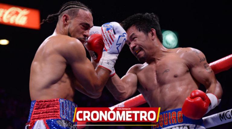 Manny Pacquiao vence a Thurman y se corona supercampeón AMB