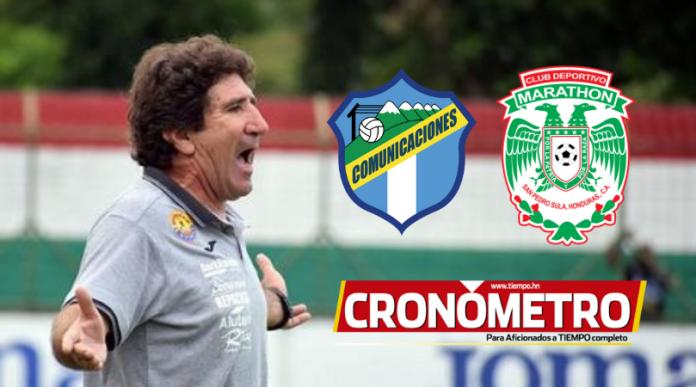 Vargas enfocado en el partido contra Comunicaciones en la Liga Concacaf