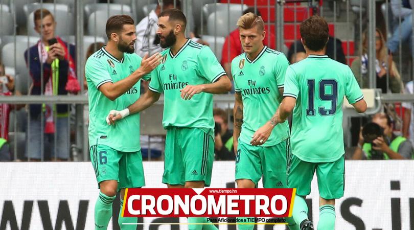 El Real Madrid le gana por goleada al Fenerbahçe y toma confianza previo al inicio de Liga