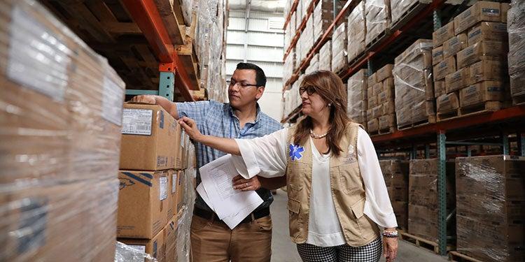 Secretaría de Salud: centros asistenciales estarán abastecidos en un 80 %