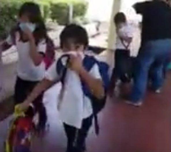 Padres de niños afectados por gas lacrimógeno exigen tomar medidas legales