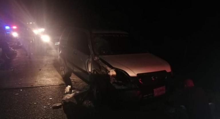 Estrepitoso accidente deja a motociclista muerto en La Masica, Atlántida