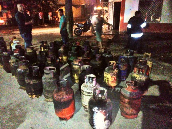 distribuidora de gas en danlí