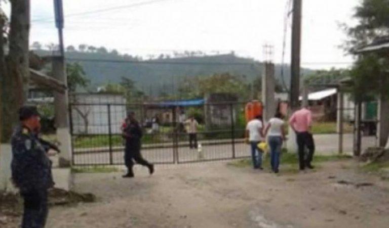 El subdirector del centro penal de Santa Rosa de Copán ha sido capturado
