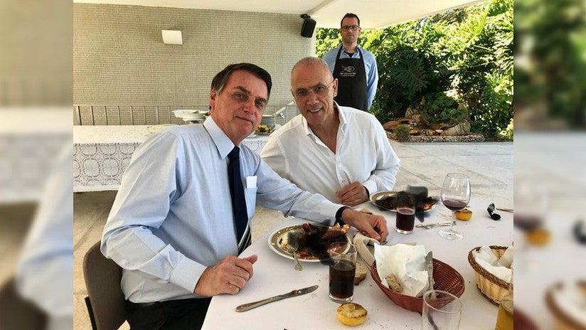 comida del embajador israelí