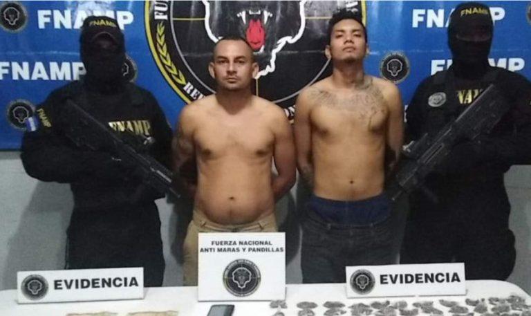 Detenidos dos supuestos miembros de la MS-13 en El Progreso
