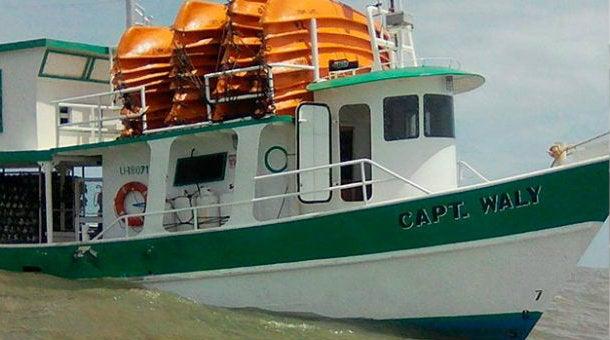 La Mosquitia: antes de zarpar, barco naufragado fue inspeccionado por la SAG y Marina Mercante