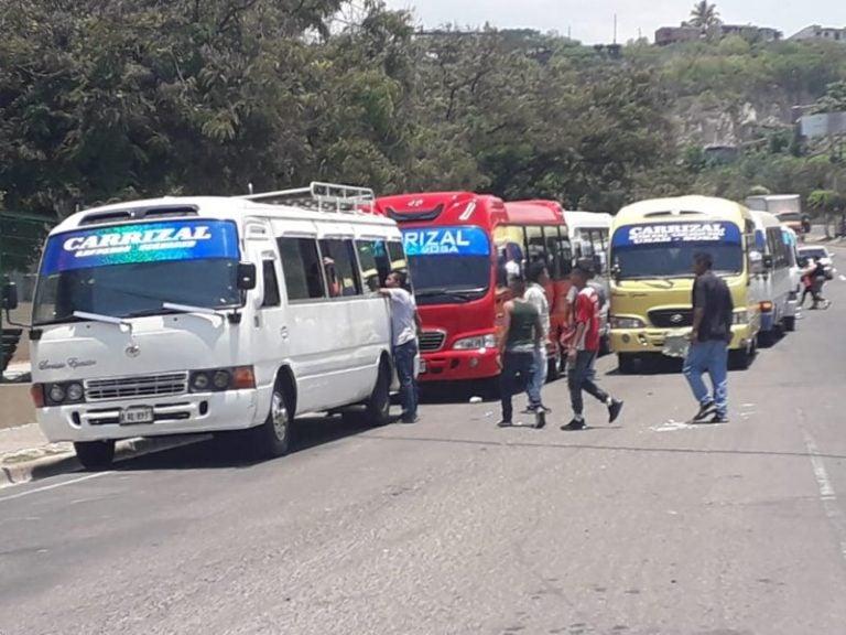 Rapiditos de la ruta Carrizal-UNAH-La Sosa se van a paro: «No tenemos apoyo de autoridades»