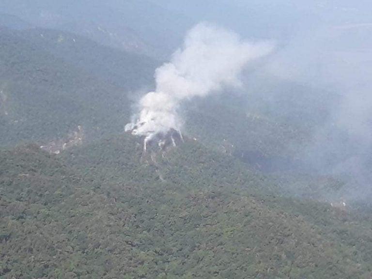 ¿El volcán despertó? Especialistas inspeccionarán humo en Pico Bonito, La Ceiba