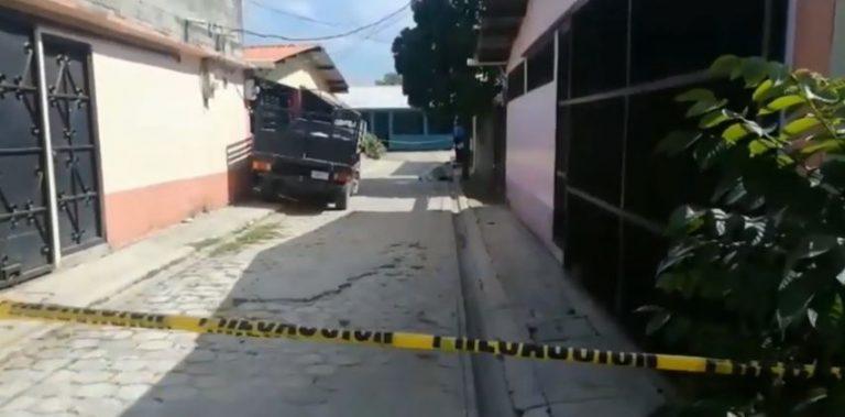 Joven padre se suicida de un disparo frente a su casa en Choloma