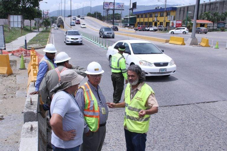 SPS: cerrado tramo vial entre primera calle y bulevar Juan Pablo II