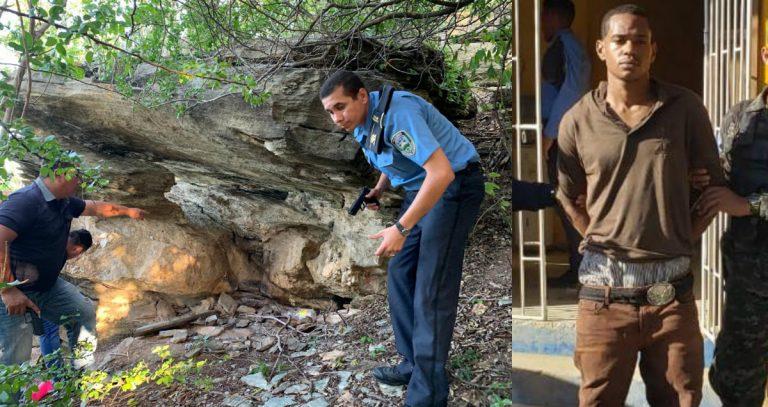 Policía afirma haber capturado dentro de una cueva al criminal más buscado de Roatán