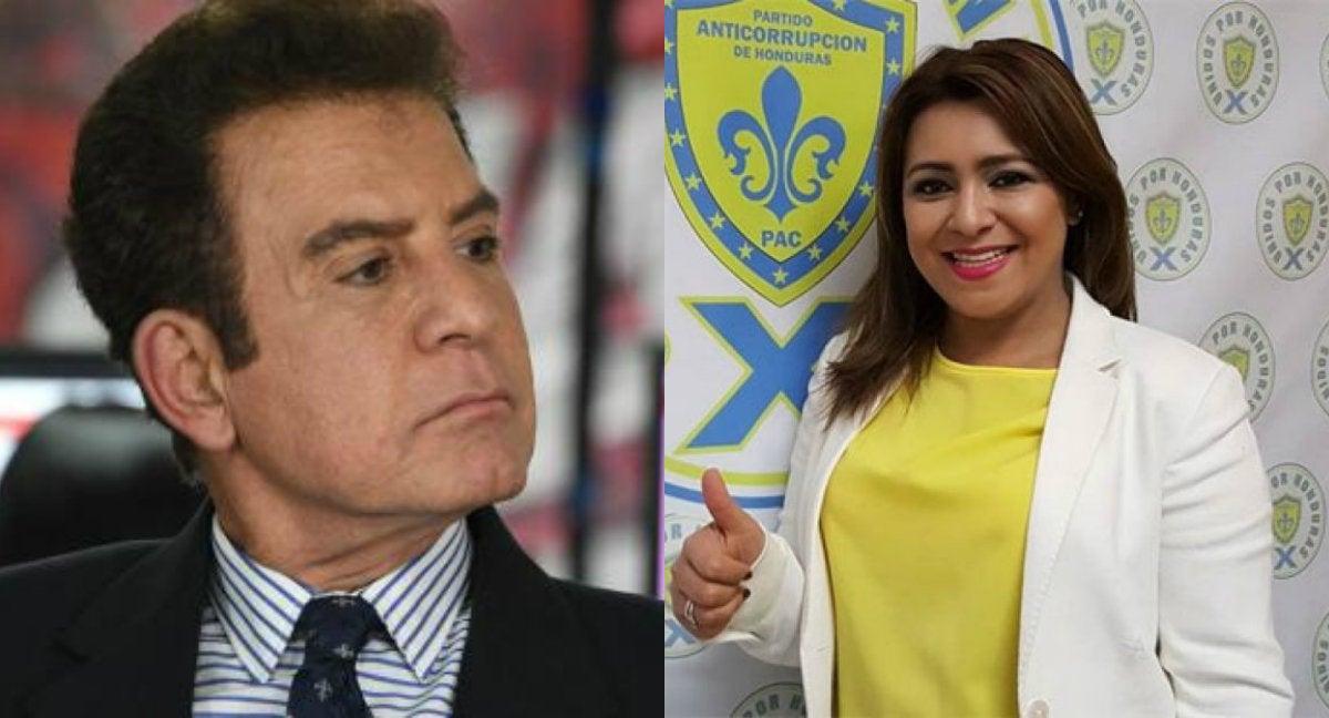 Marlene Alvarenga acusa a Nasralla de malversar fondos del PAC; él se  defiende
