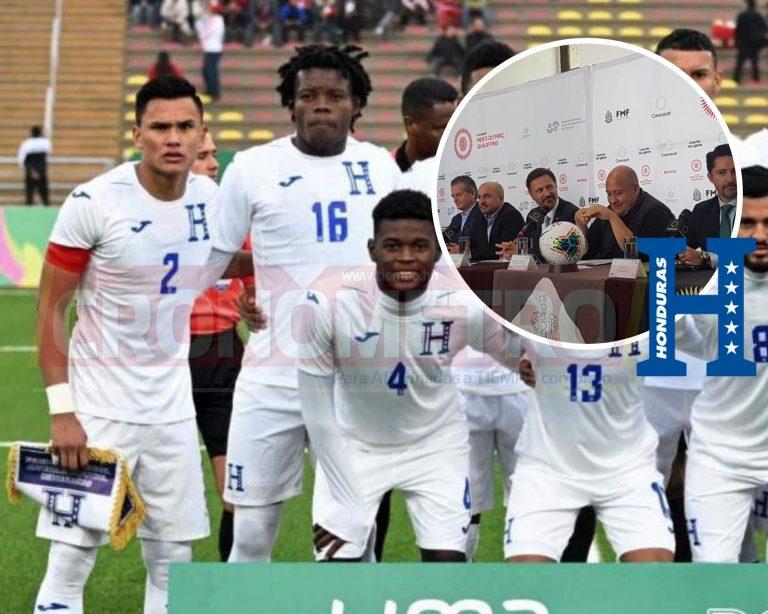 ¡ES OFICIAL! Honduras Sub-23 disputará Preolímpico de Concacaf en México