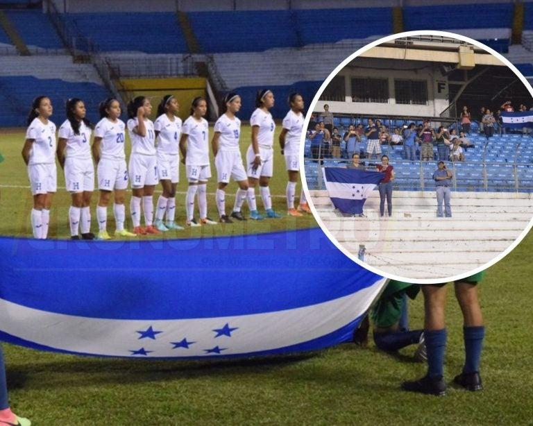 Las fotos que dejó la goleada 12-0 de la selección femenina Sub-17 de Honduras