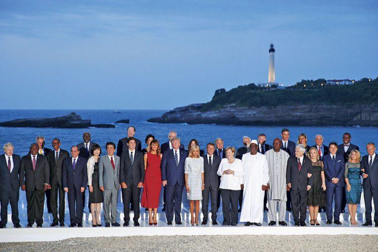 Irán, ausencia de Rusia y Amazonía dominan cumbre del G7 en Francia