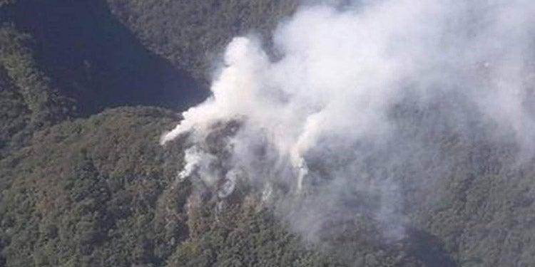Sigue sin conocerse las causas que provocaron el fuego en Pico Bonito