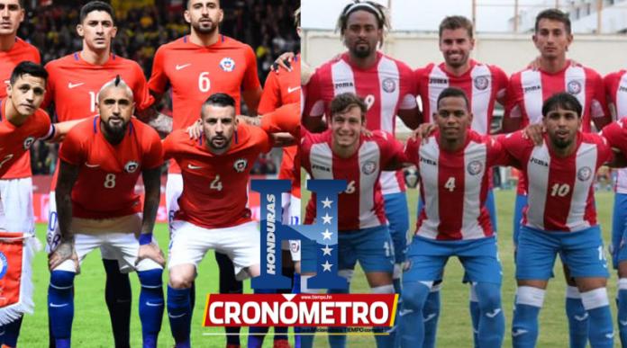 Puerto Rico y Chile rivales de Honduras en la próxima fecha FIFA
