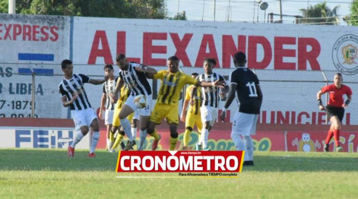 Honduras Progreso salva empate contra el Real España