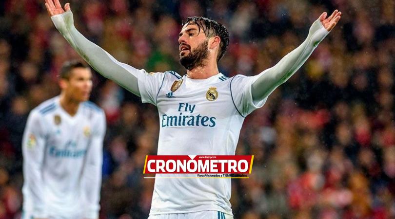 PESADILLA BLANCA: Isco se lesiona y el Real Madrid suma su sexta baja