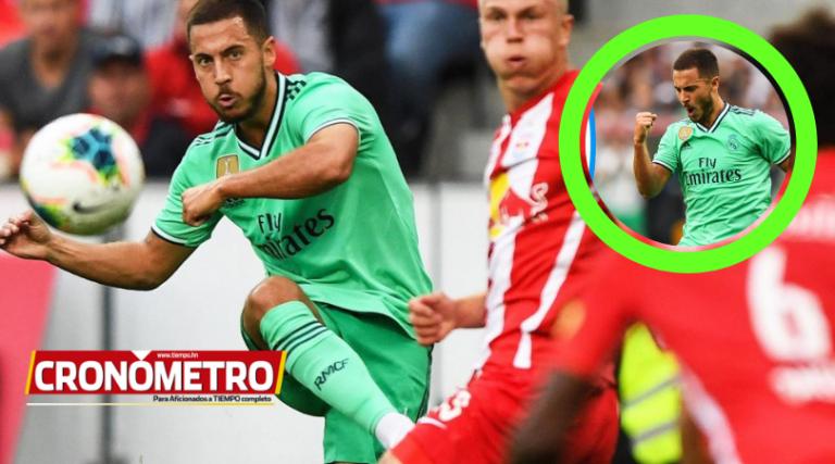 Real Madrid gana por la mínima al Sаlzburg con sello de Hazard