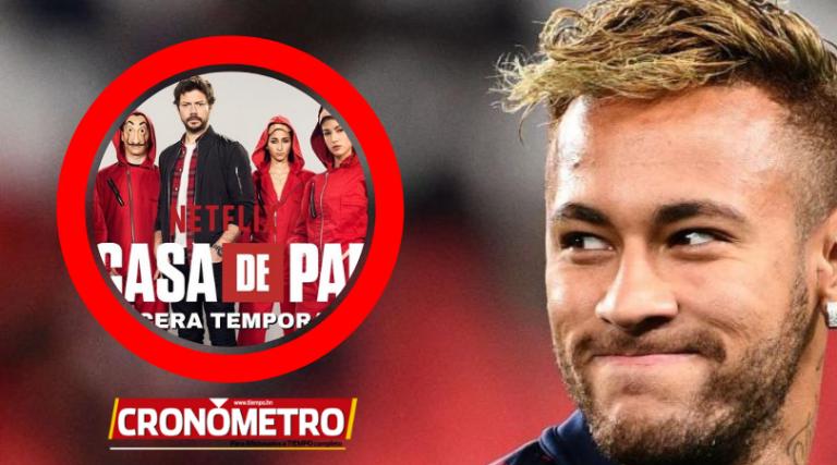 ¡Neymar lo hace oficial! El brasileño vuelve a la actuación en la serie «La casa de papel»