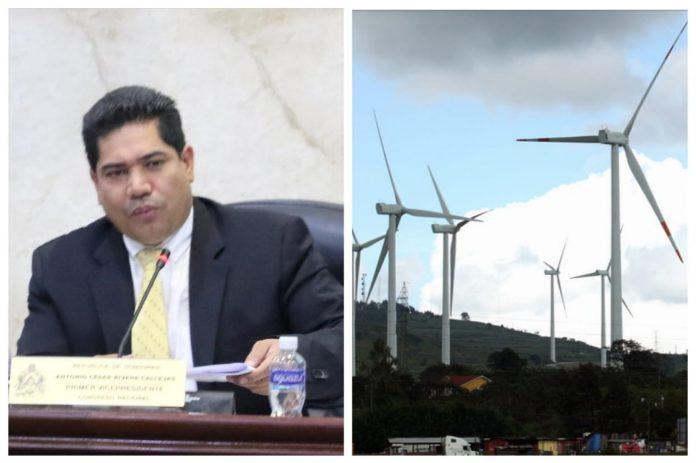 Contrato de energía eólica