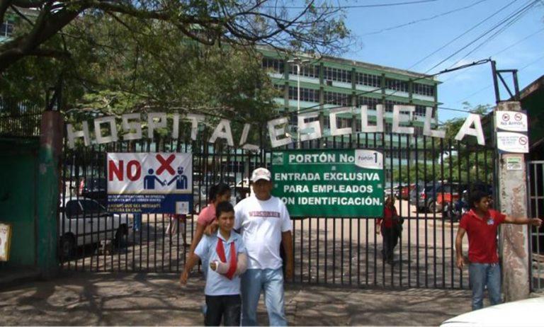 Despedidos dos sindicalistas del Hospital Escuela por protagonizar protestas