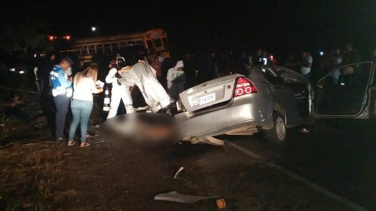 Identifican a víctimas de fatal accidente en la CA-13; residían en Villanueva, Cortés